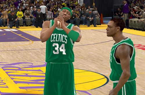 Paul Pierce in NBA 2K11