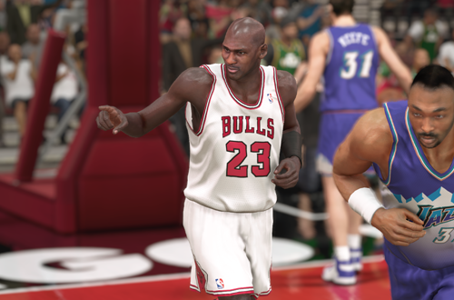 Michael Jordan in NBA 2K14 (Played on PS5)
