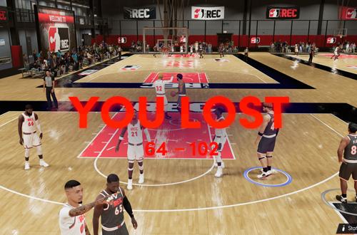 Big Loss in The Rec (NBA 2K21)