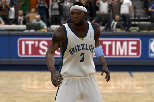 Darius Miles in NBA 2K9