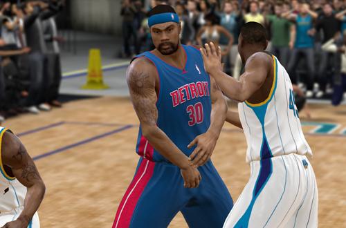 Rasheed Wallace in NBA 2K9