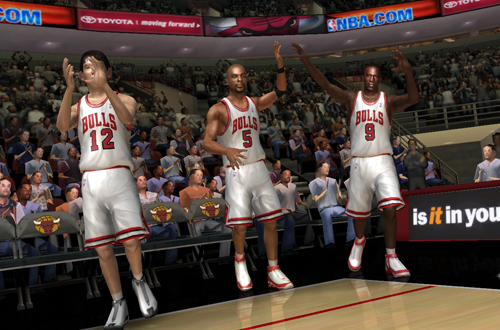 Favourite Dynasty Game: NBA Live 06 (Chicago Bulls)