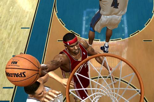 LeBron James Layup (NBA Live 06 Xbox 360)