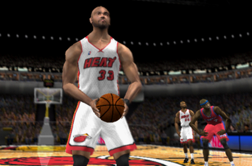 Alonzo Mourning in NBA Live 2002