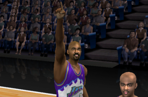 Bryon Russell in NBA Live 2002