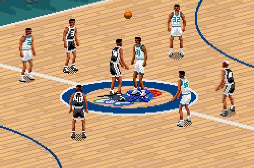 An Old Favourite: NBA Live 95 (SNES)