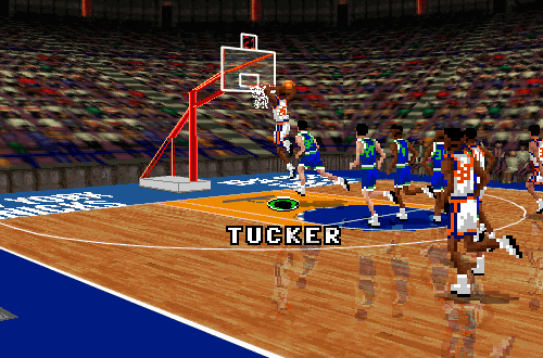 Anthony Tucker in NBA Live 96 PC