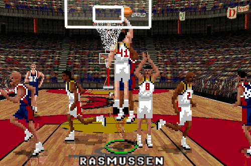 Blair Rasmussen in NBA Live 96 PC