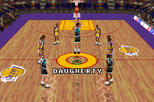 Brad Daugherty was inactive in NBA Live 96 PC