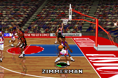 Rodney Zimmerman in NBA Live 96 PC