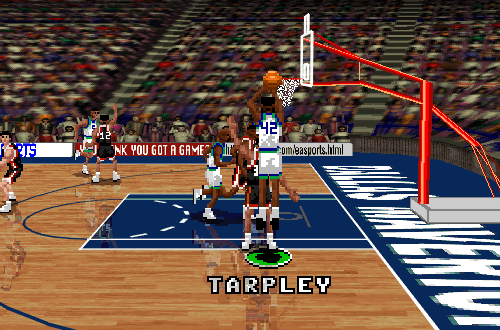 Inactive Player Roy Tarpley in NBA Live 96 PC