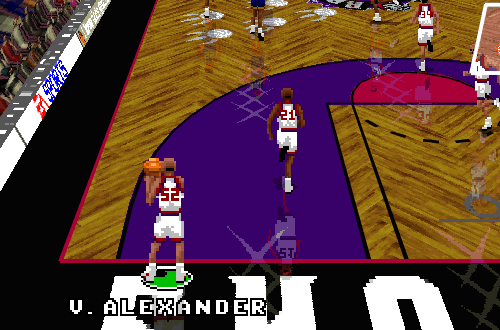 Victor Alexander in NBA Live 96 PC