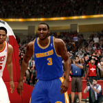 Donyell Marshall Retro Warriors (NBA Live 10)