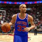 Grant Hill Retro Pistons (NBA Live 10)