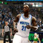 Kevin Garnett Retro Timberwolves (NBA Live 10)