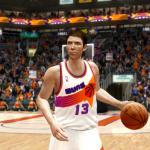 Steve Nash Retro Suns (NBA Live 10)