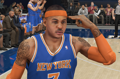 Carmelo Anthony in NBA 2K14