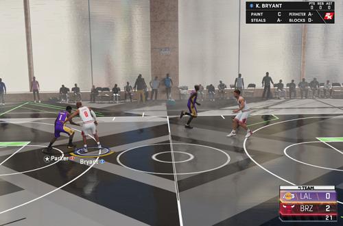 Triple Threat Offline in MyTEAM (NBA 2K21 Next Gen)