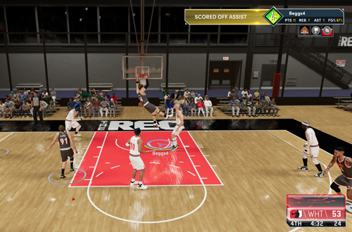 Dunking in The Rec (NBA 2K21)