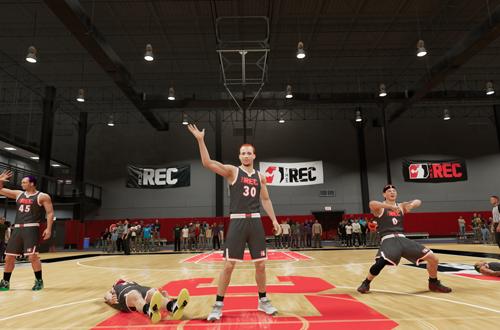 Opponents Celebrate in The Rec (NBA 2K21)