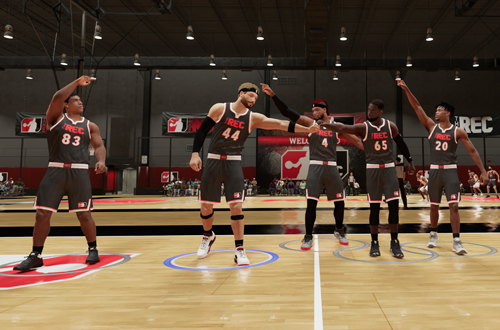 Acknowledging Teammates Would Make The Rec Friendlier (NBA 2K21)