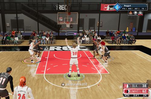 Teammate Free Throw in The Rec (NBA 2K21)