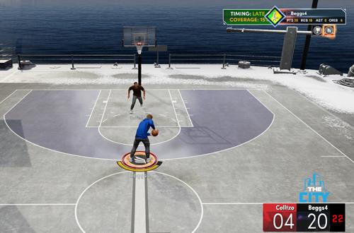 1v1 Game in Rookieville (NBA 2K21)