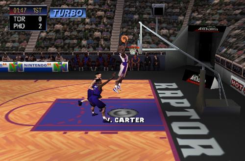 Vince Carter in NBA Jam 2000