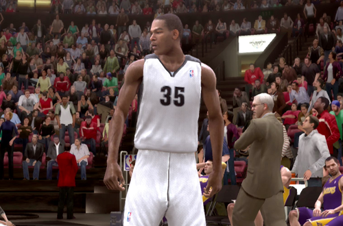 Oklahoma City Thunder Placeholder Jersey in NBA Live 09