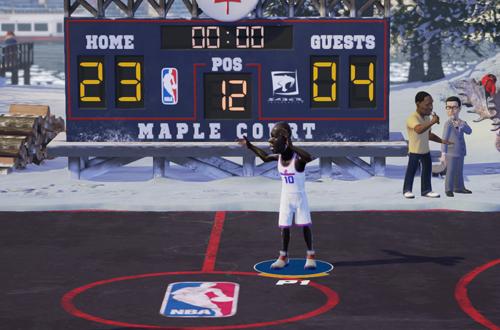 NBA Playgrounds lacked the NBA Jam Vibe