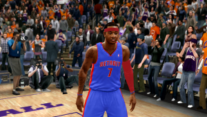 Carmelo Anthony Pistons