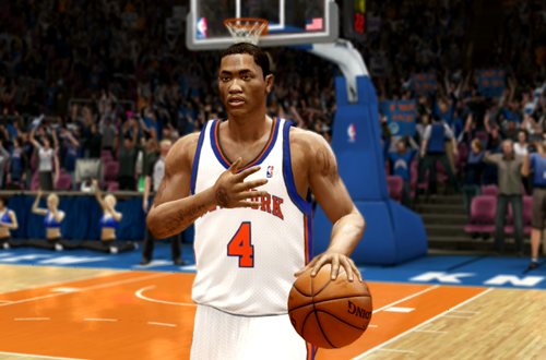 Active Players in NBA Live 10: Derrick Rose