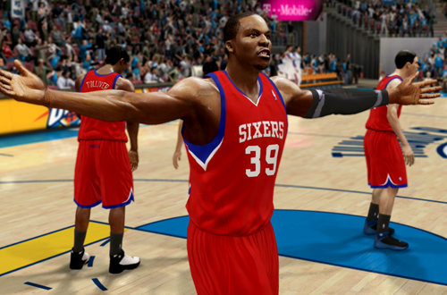 Active Players in NBA Live 10: Dwight Howard