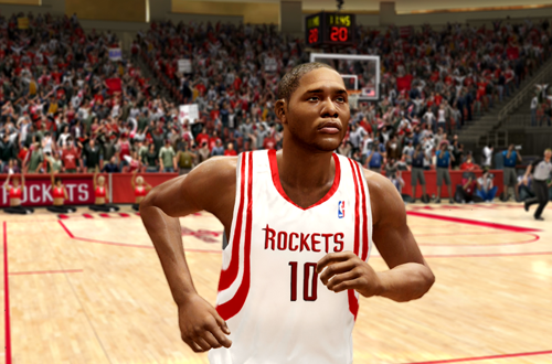 Active Players in NBA Live 10: Eric Gordon