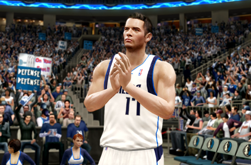 Active Players in NBA Live 10: J.J. Redick