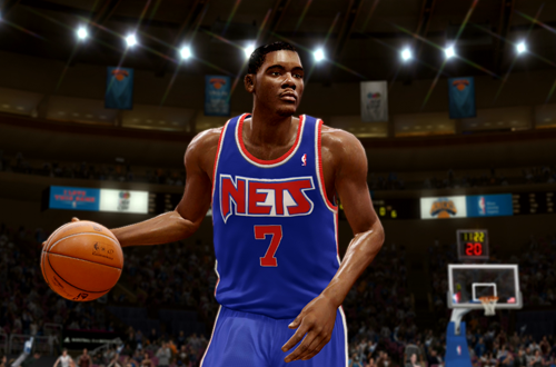 Active Players in NBA Live 10: Kevin Durant