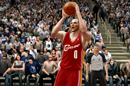 Active Players in NBA Live 10: Kevin Love