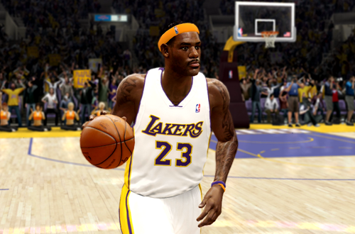 Active Players in NBA Live 10: LeBron James