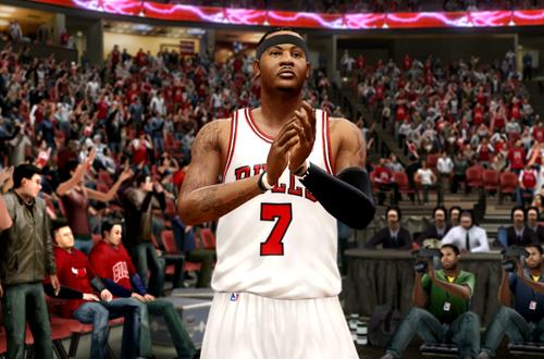 Bulls Free Agency What Ifs: Carmelo Anthony (NBA Live 10)