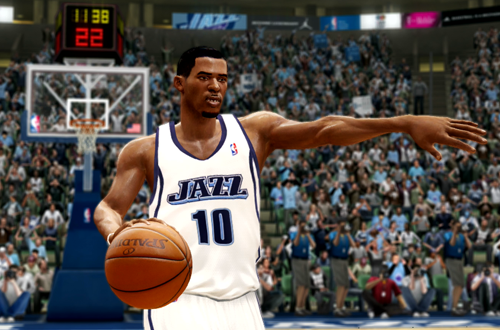 Active Players in NBA Live 10: Mike Conley