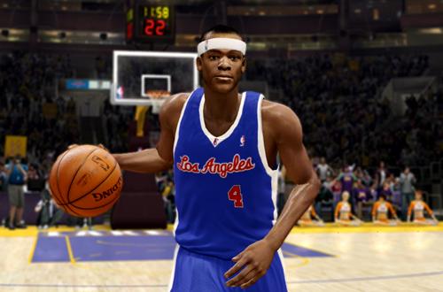 Active Players in NBA Live 10: Rajon Rondo