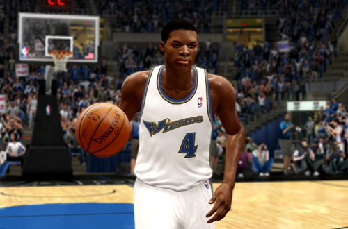 Active Players in NBA Live 10: Russell Westbrook
