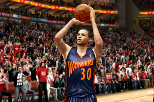 Active Players in NBA Live 10: Stephen Curry