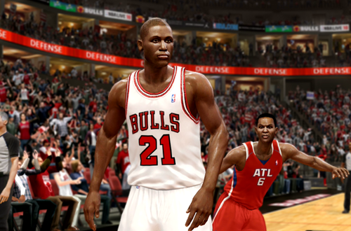 Active Players in NBA Live 10: Thaddeus Young
