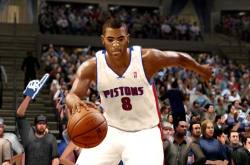 Active Players in NBA Live 10: Wayne Ellington