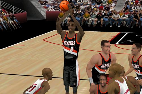Steve Smith in Fox Sports NBA Basketball 2000