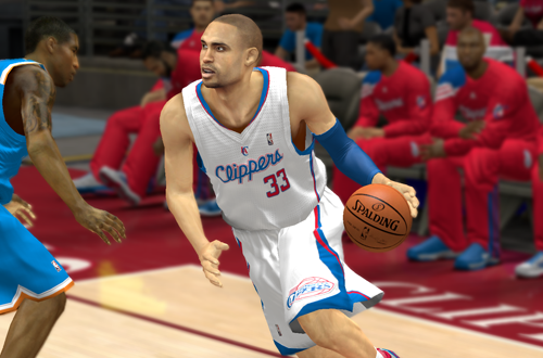 Grant Hill on the Clippers (NBA 2K13)