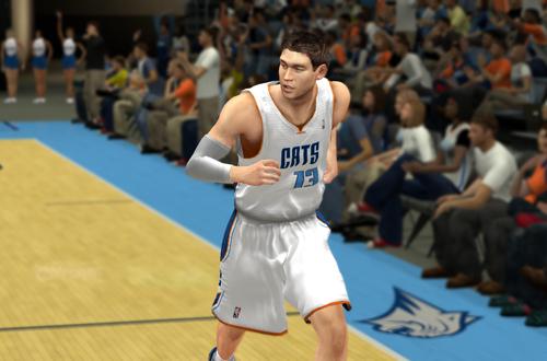 Matt Carroll back in Charlotte (NBA 2K13)