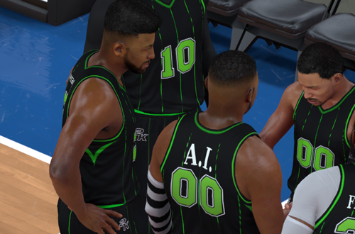 AI Player in 2K Pro-Am (NBA 2K17)