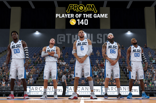 AI Players in NBA 2K17 Pro-Am